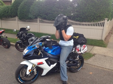 Riding a GSXR For The First Time