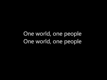One World, One People