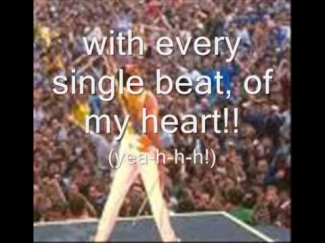i was born to love you lyrics- Queen