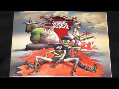 Gorillaz Live at Glastonbury (HD) [Intro] Welcome to the World of the Plastic Beach