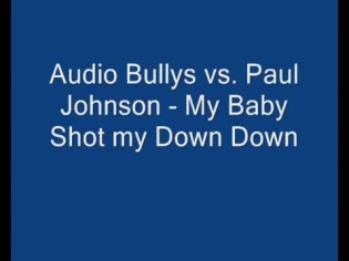 Audio Bullys vs. Paul Johnson - My baby shot me down down Remix
