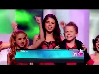 Junior Eurovision 2012 - Kidsrights Song - We can be heroes (ALL PARTICIPANTS)