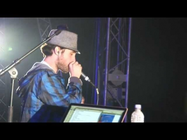 Beardyman @ Camp Bestival - the prequel - solo beatbox