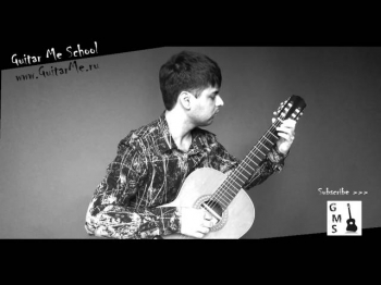 A BEAUTIFUL TUNE on guitar performed by Alexander Chuyko