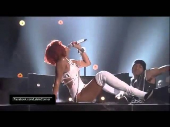 Rihanna ft. Britney Spears - S & M (Remix) Live on Billboard Music Awards