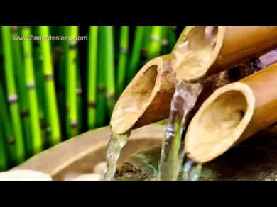 BAMBOO WATER FOUNTAIN | Relax & Get Your Zen On | 10 Hours White Noise