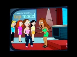 Tyra Banks on Family Guy? Tyra Banks Blows up as a Monster!!