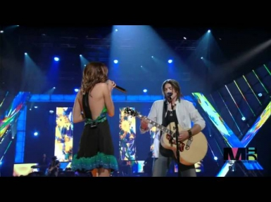 Miley Cyrus & Billy Ray Cyrus - Ready Set Don't Go - CMT Music Awards 2008