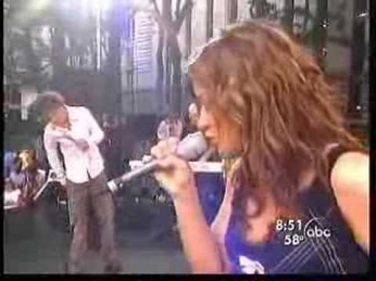 Timeless-Live Kelly Clarkson and Justin Guarini