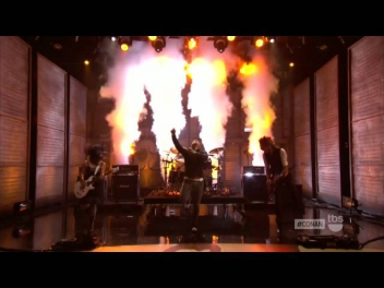 Skillet - Rise (Live on Conan O'Brien Show) HD 1080p Only One Best Quality On Youtube!